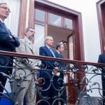 Inauguración de la Sala Italia en el Museo Tammaro.