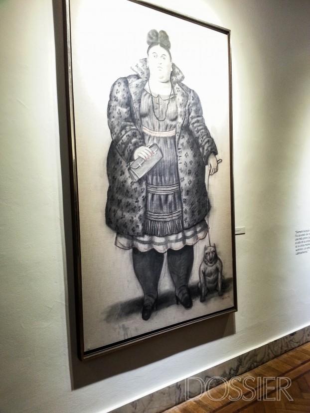 Botero en el Museo Blanes