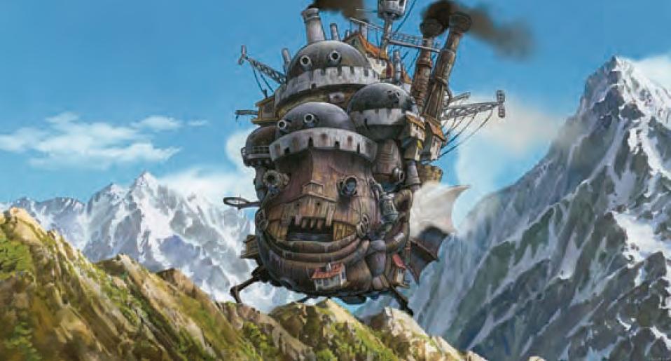 El increíble castillo vagabundo, 2004.