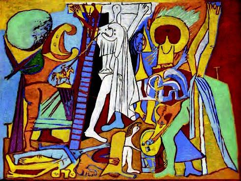 'Crucifixión', 1930.