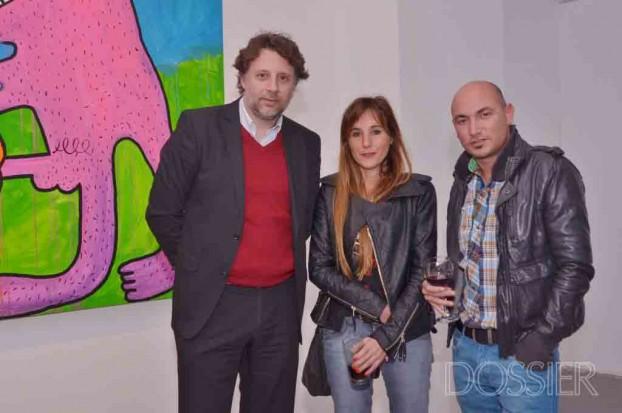 Ignacio Fabregas, Geraldine Lewi y Martin Viera Izeta