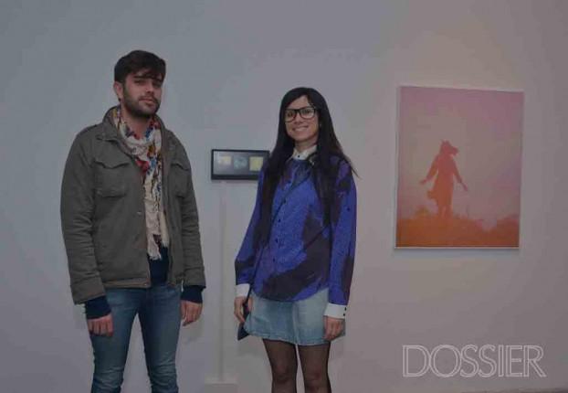 Mauricio Pizard y artista Fernanda Montoro