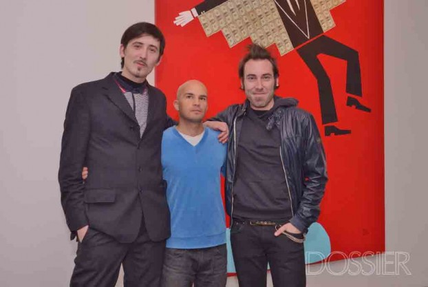 Gregoire Cheyne, Javier Abreu y Dani Scharf