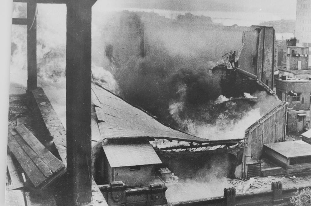 42 años del incendio del Estudio Auditorio del Sodre