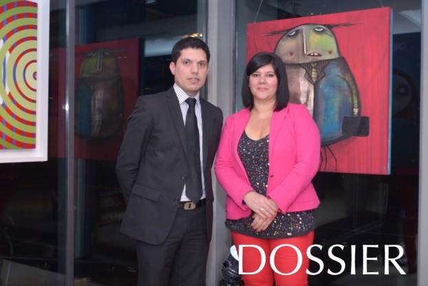 Gaston Roca,Diana Saravia