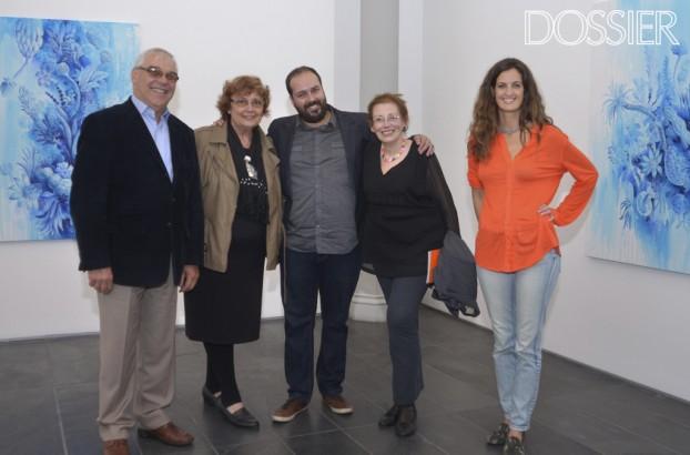 Nilo Peile(Director Administrativo de la Universidad de la Empresa),Ana Poggi(escultora),Pedro Varela,Blanca Villamil(Artista),Sofia Silva (1024x676)