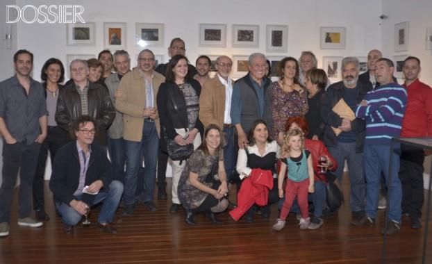 Todos los artistas participantes en la exposicion (1024x626)