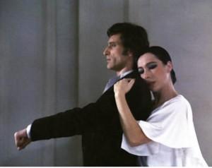 Antonio Gades y Cristina Hoyod, en Bodas de Sangre, 1981