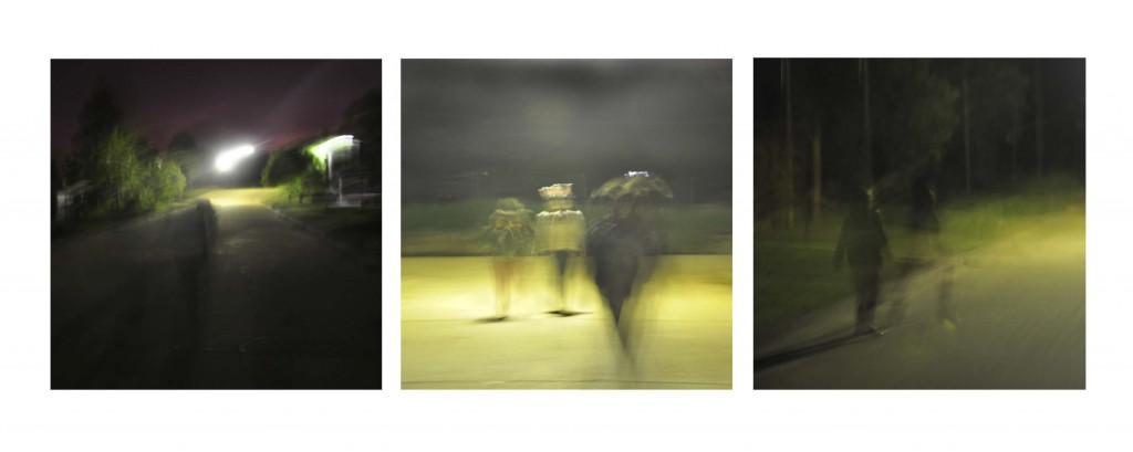 Serie Estado Previo, la primera estuvo en la IX Bienal de Salto en el 2011
