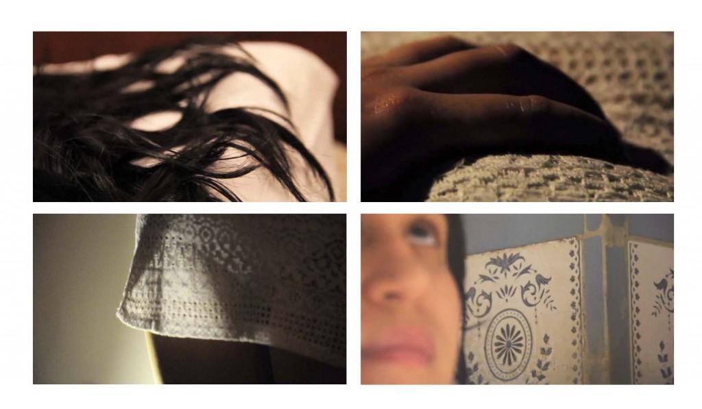 """Del proyecto """"Niebla Rosada"""".De la serie """"700_DÌas"""" Frames del video """"La doy por perdida"""",""""Guardado en el olvido"""",""""Nuevo Orden"""" y """"Tanto"""". 2013."""