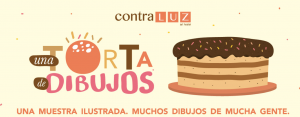 Una torta de dibujos @ Contraluz Art Hostel