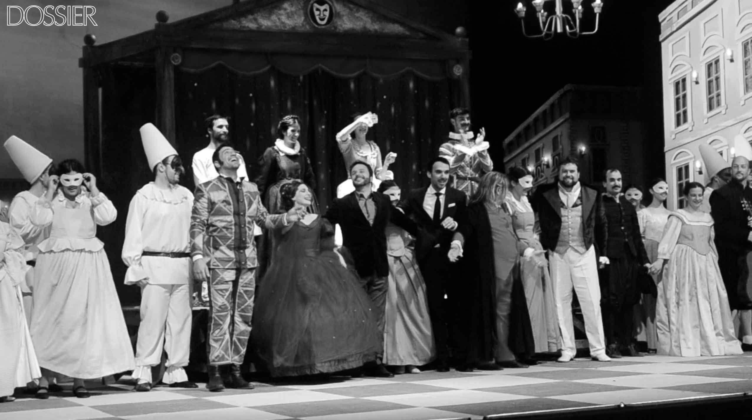 Las celebraciones del 23 de agosto culminaron con una función especial de la Ópera Don Pasquale de Gaetano Donizetti. Dirección Musical: Martín Jorge Dirección Escénica: André Heller-Lopes (Brasil)