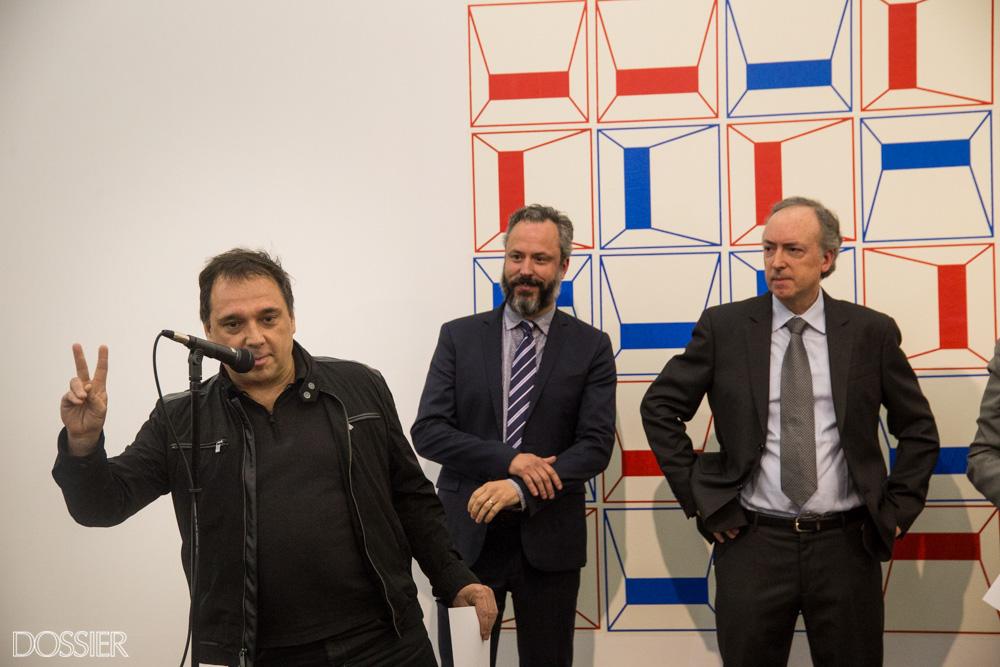El artista Diego Focaccio, ganadore del 3er Premio Adquisición MEC