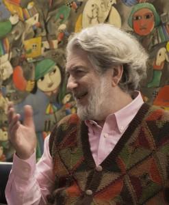 Curador de la exhibición Gabriel Peluffo