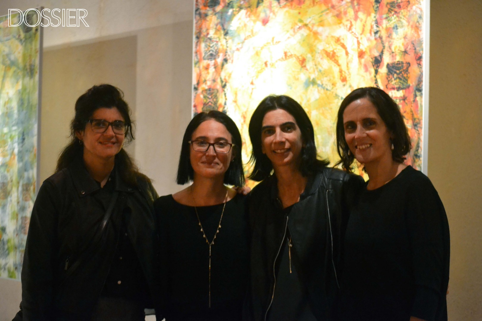Ivahanna Larrosa, Ximena Castro, Mercedes Amado y Virginia Gómez