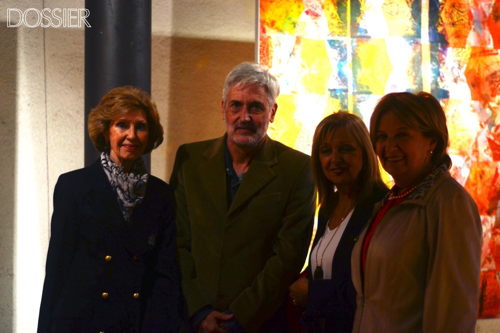 Auritela Burastero, Carlos Castro, Rosario Varolli y Ana María Aenelli