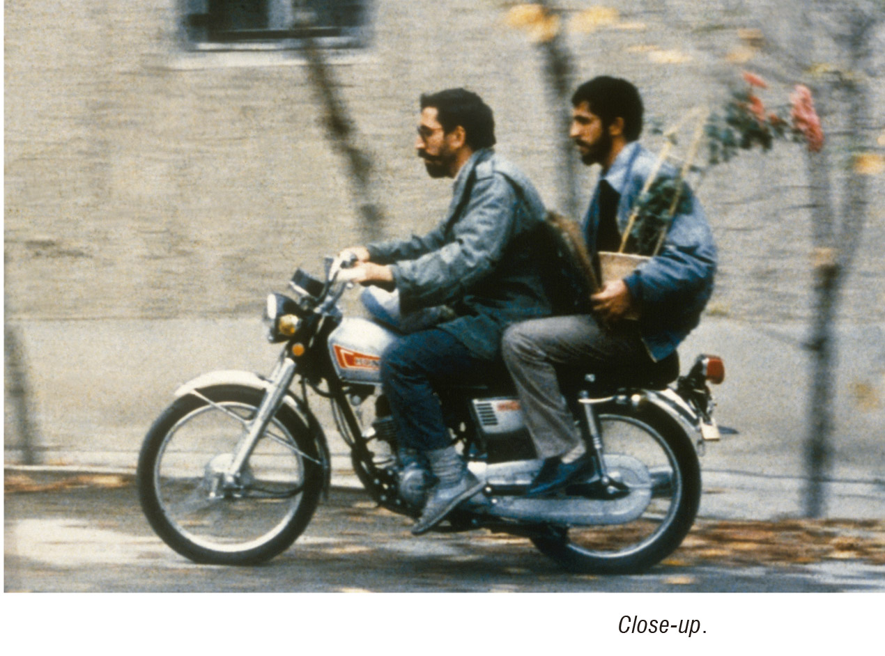 kiarostami close up