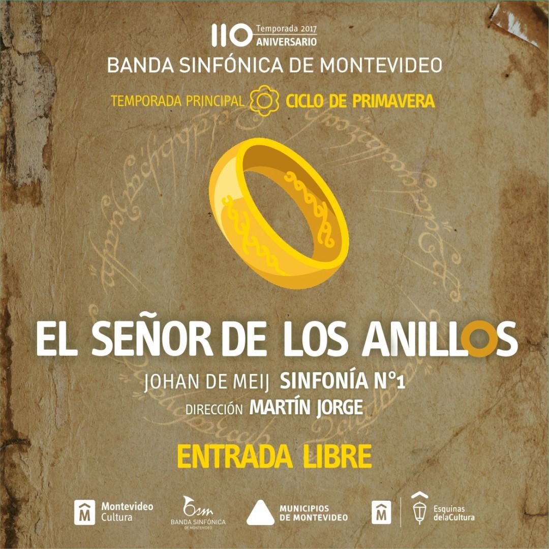 El señor de los anillos Banda Sinfónica de Montevideo