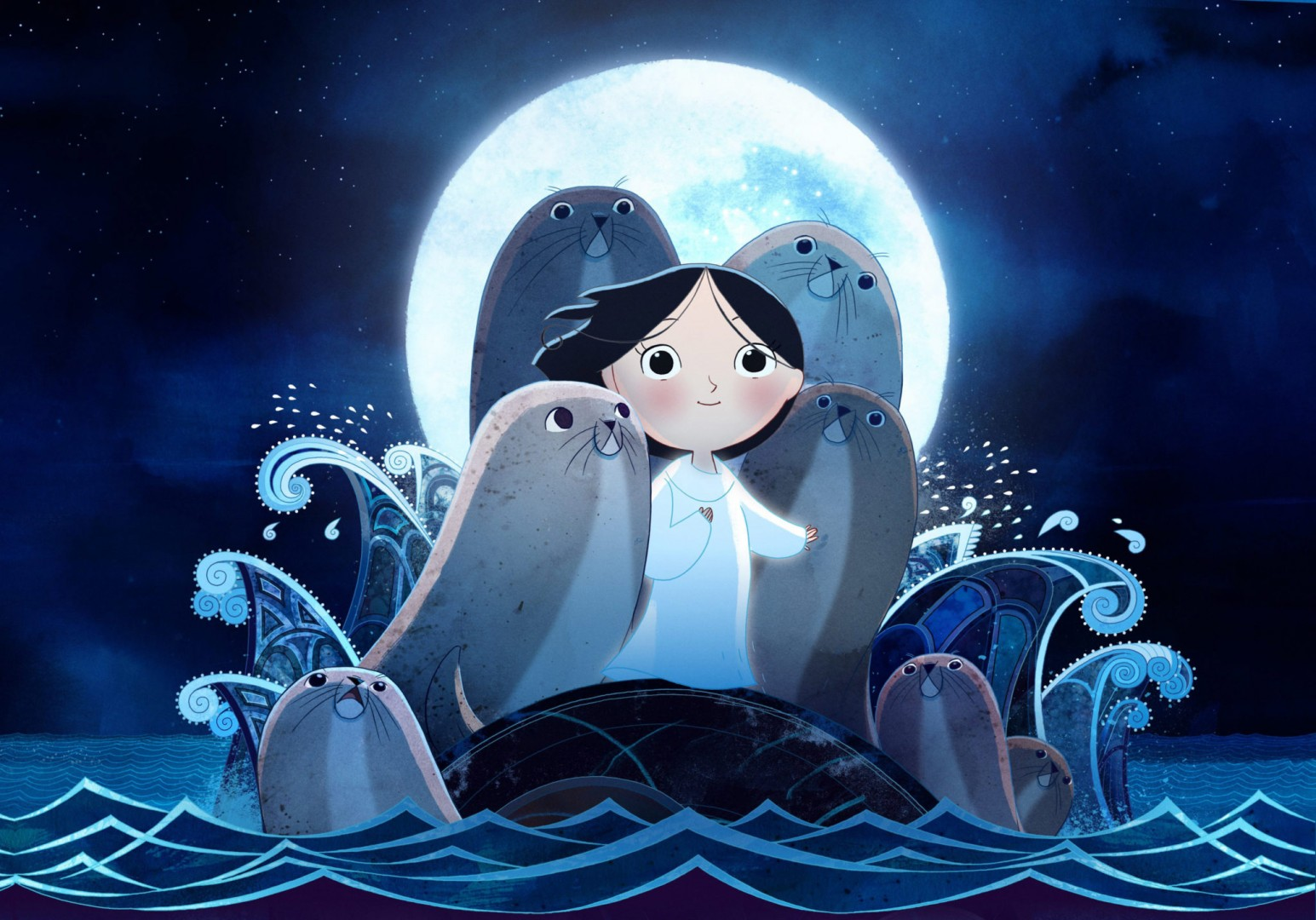 Song of the sea (La canción del mar, dirigida por Tomm Moore