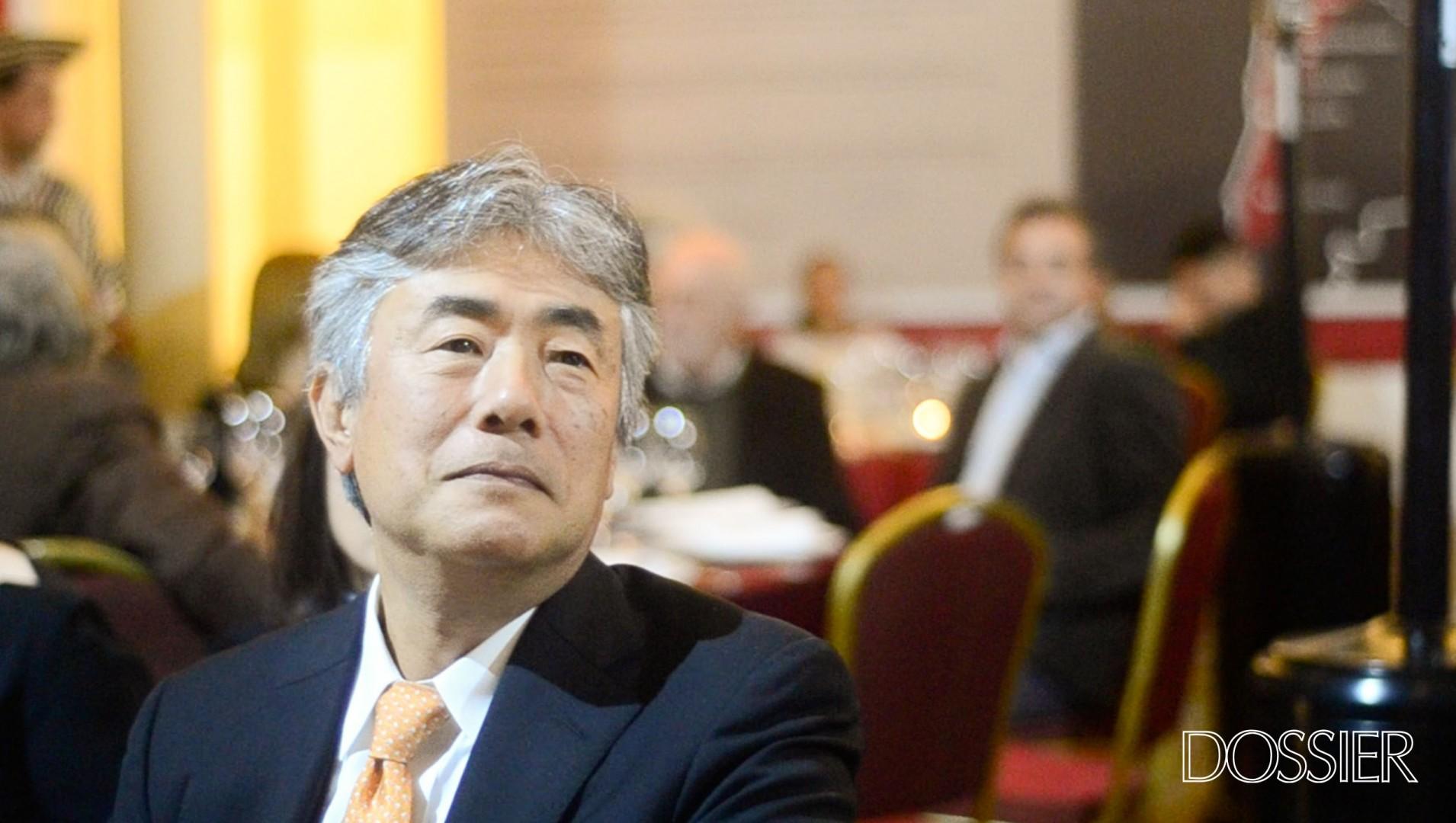 Embajador de Japón Tatsuhiro Shindo.