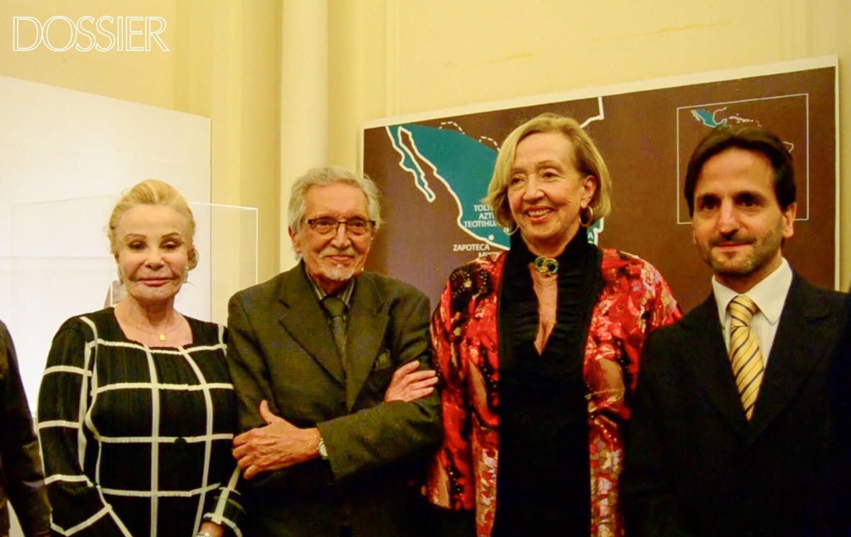 Lætitia d'Arenberg, Mariano Arana, María Julia Muñoz y Facundo Almeida