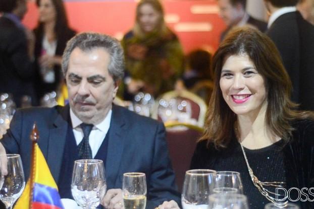 Embajadora de Colombia en Uruguay Natalia Abello