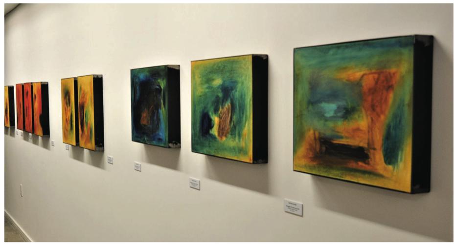 Rafaelle Rossi en el Museo Gurvich / Foto por Mario Cattivelli