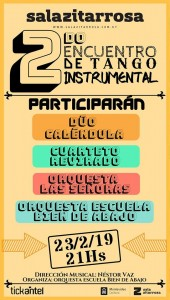 2º Encuentro de Tango Instrumental @ SALA ZITARROSA