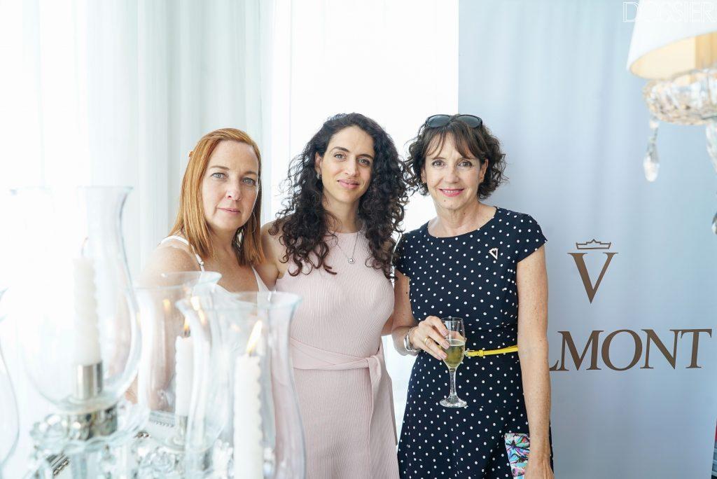 Sandra Díaz - Representante de ventas Yoo Punta del Este -, Mariana Scasso - Gerente de Comunicación & Marketing YOO Punta del Este -, Graciela Santi - Gerenta de Valmont Uruguay -