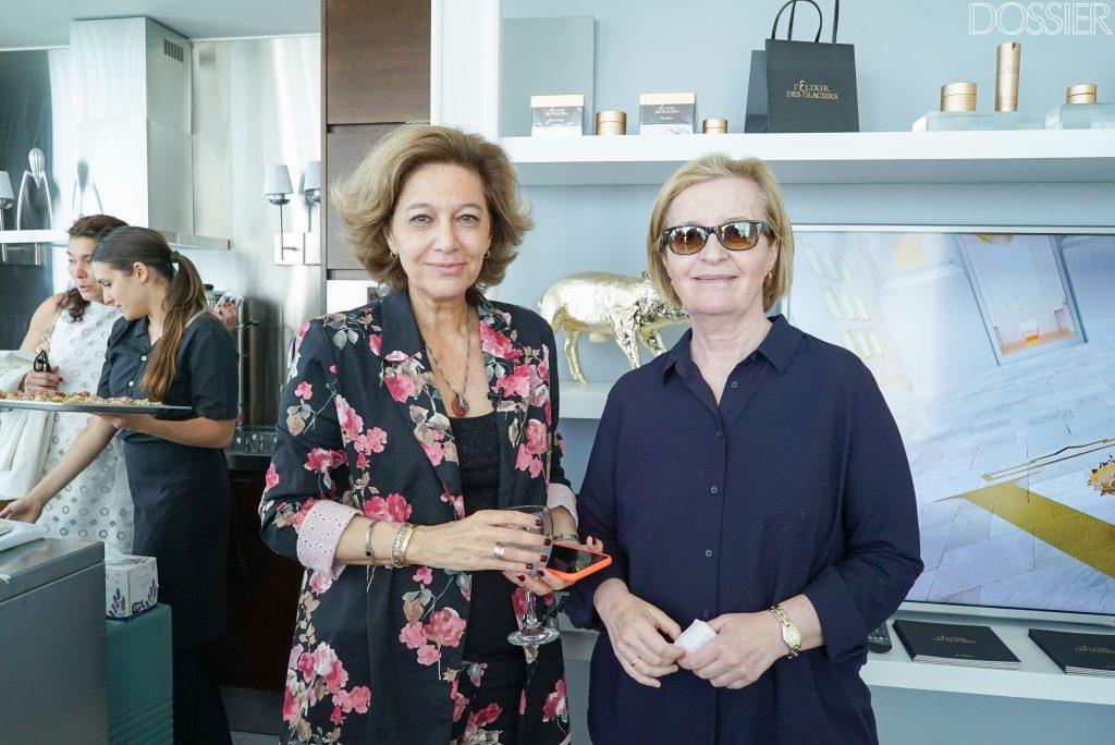 María Inés Strasser y Soledad Hernández
