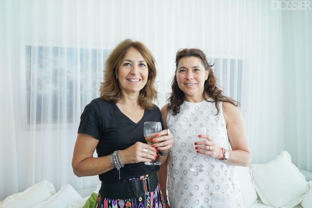 María Fernández y Marcela Wynter