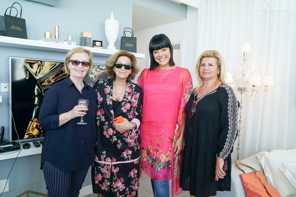 Solead Hernández, María Inés Strasser, Eunice Castro y Alicia Delarno