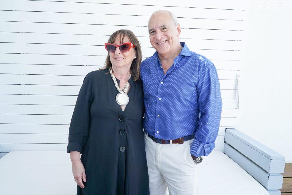 Daniel Pomies junto a Helena Bianchi de Pomies
