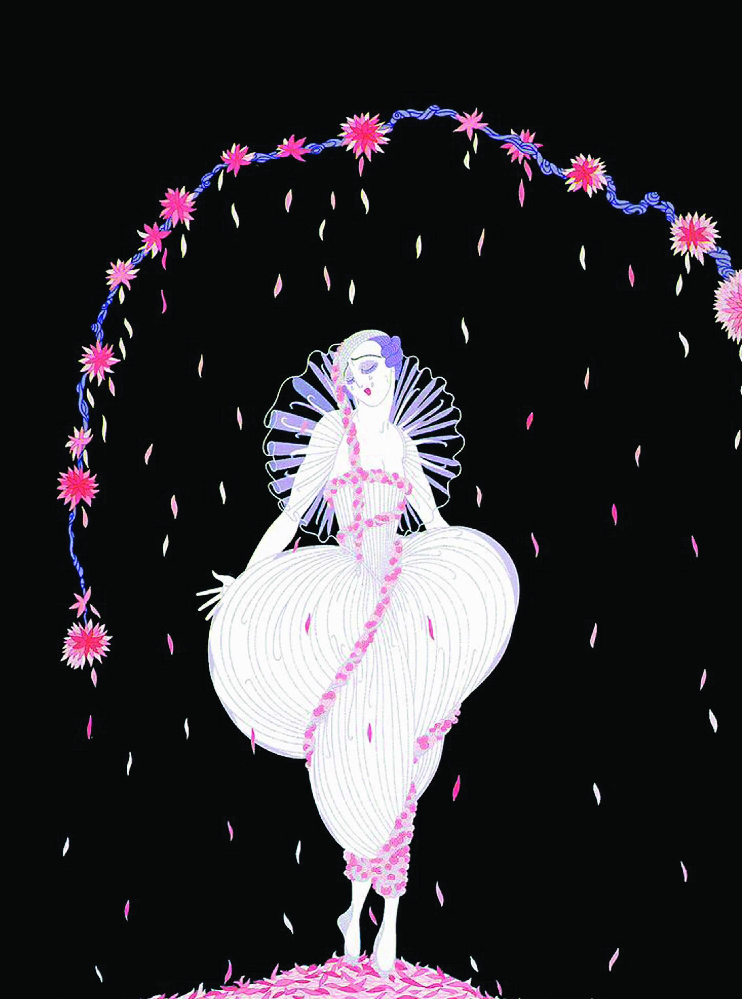 Ilustración para la revista Vogue.