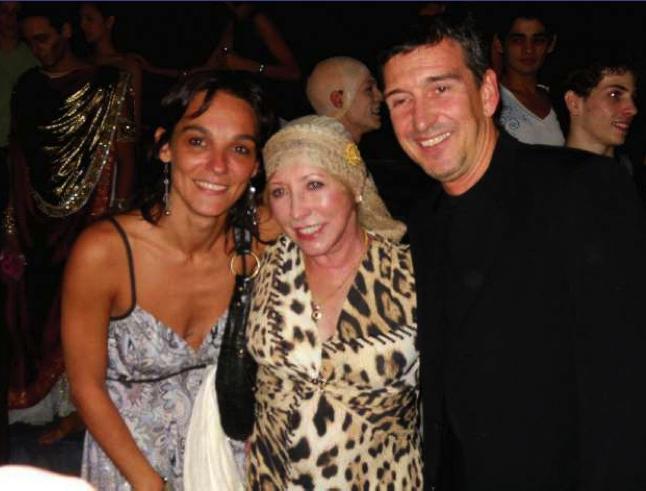 Con Natalia Makarova y Julio Bocca