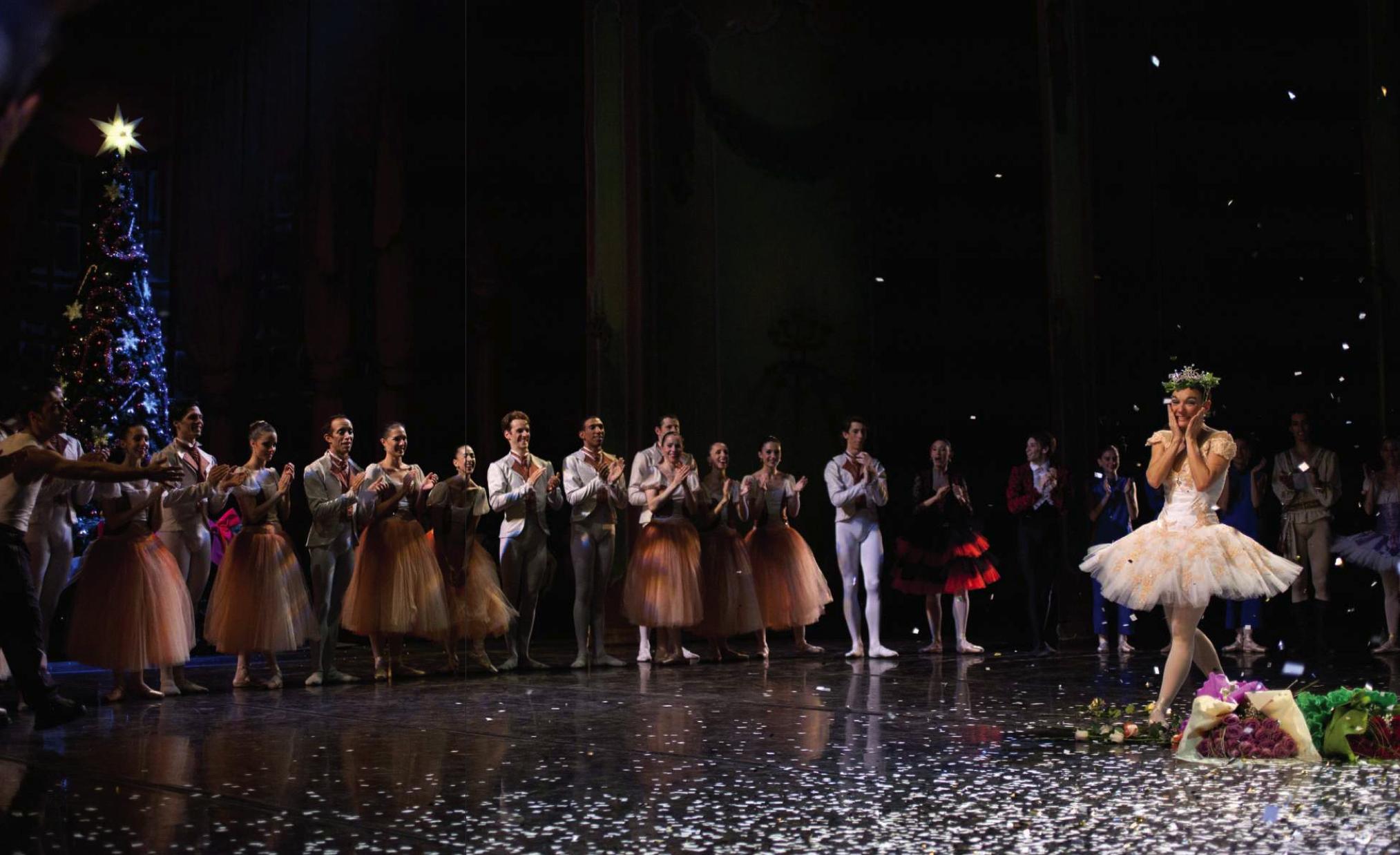 El Cascanueces, función en homenaje a Sofía Sajac, Auditorio Nacional del Sodre 2011, foto Pablo da Rosa