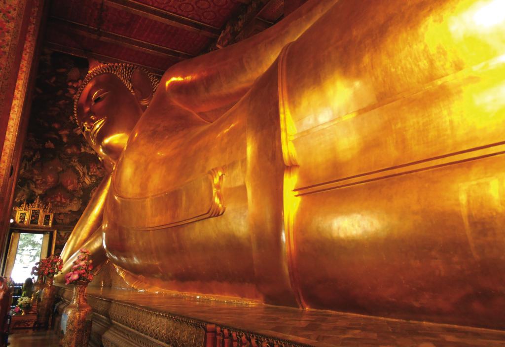 Buda reclinado de Wat Pho