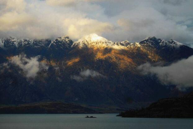 Vistas al lago Wakatipu