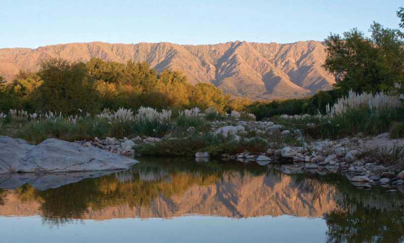 Sierras. Río Chico.