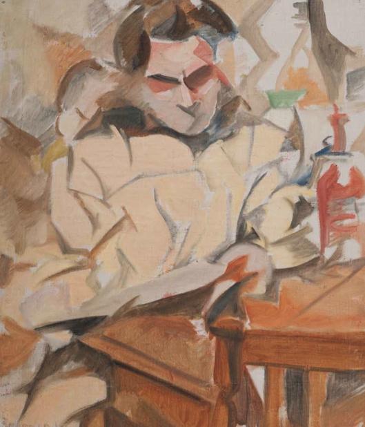 Antonio de Ignacios, c. 1918‐23. Óleo sobre tela, 67 x 56 cm.