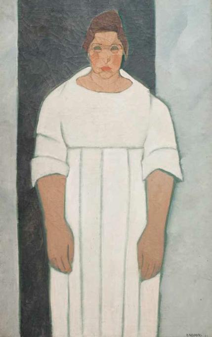 Retrato de Pilar, 1922. Óleo sobre tela, 120 x 74 cm.