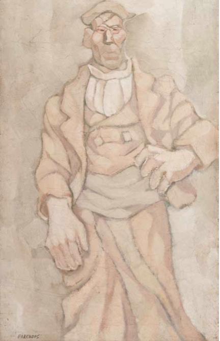 Los Magníficos_Molinero aragonés, 1924. Óleo sobre tela 117 x 75 cm.