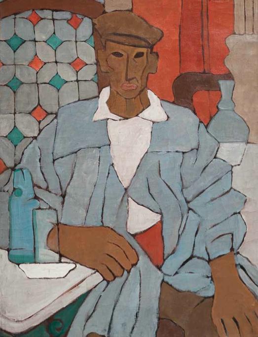 Los Magníficos_Hombre en el café, 1925. O